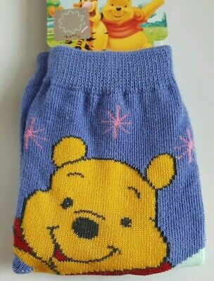 Disney Winnie the Pooh toddler socks boy girl UK size 3-5.5 (Eur 21-23) purple