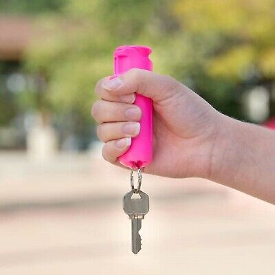 SABRE RED F15-PUSG Police Strength .54oz Pepper Gel With Flip Top & Key Ring