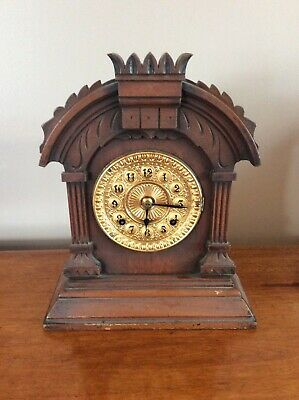 Antique Ansonia Mantel Clock c1890. 8 day