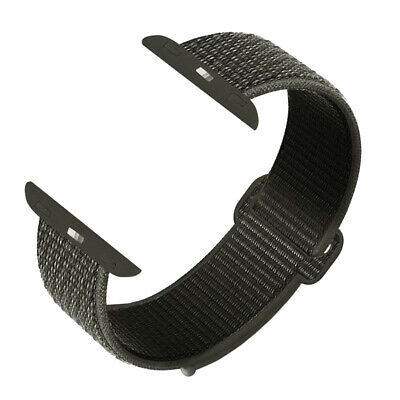 42/44mm Nylon Sports Loop iWatch Band Strap for Apple Watch Series 4 3 2 1 New