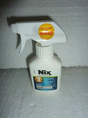 Nix Lice Control Spray Bedding & Furniture Odorless & Stainless 5 FL OZ S-15