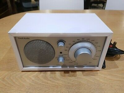 Tivoli Audio Model ONE White Radio by Henry Kloss