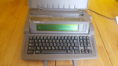 Sharp Font Writer FW550 Word Processor very good condition