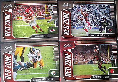 2019 Absolute Football RED ZONE Cards - You Pick - $1.59 - $2.99