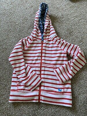 Girls Mini Boden Towelling Hoodie Age 4-5 Years Swimming Holiday