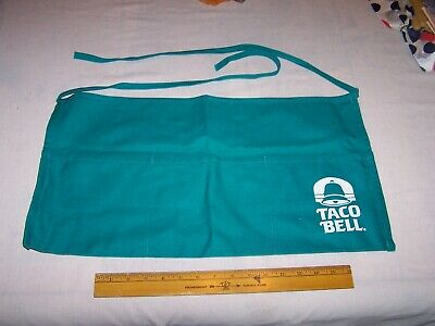Estate Find - TACO BELL Apron with Pockets - Fame Fabrics USA