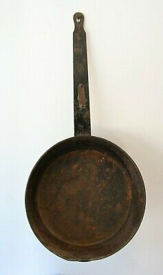 """Antique Civil War Era Frying Pan """"The New Fryer"""" Patented July 8th 1879 Cookware"""