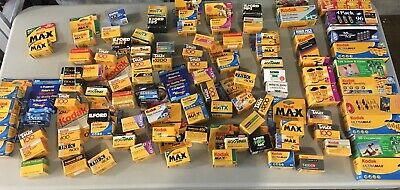 Expired 35mm Film Grab Bag Lot - 4 Rolls Each - Fuji, Kodak, & More