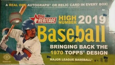 2019 Topps Heritage High Number Baseball You Pick- Base 501-725 Free Shipping