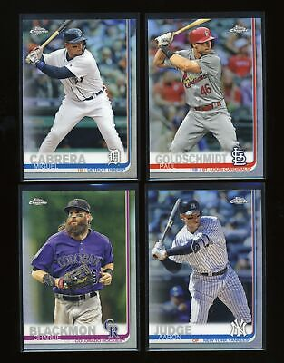 (Pick from List) 2019 Topps Chrome Refractor - parallel inserts