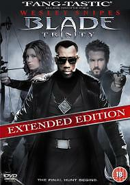 !  Blade Trinity (DVD, 2005, 2-Disc Set, Extended Version) very good condition
