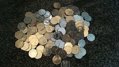100 Rare And Collectable Limited Edition 50P Coins