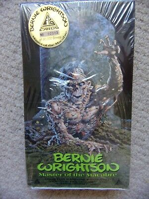 BERNIE WRIGHTSON 1 Full Box of Trading Cards Master of the Macabre