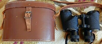 Cased Bausch And Lomb 6X30 Military Binoculars S/N 269694 Des.pat.83.934