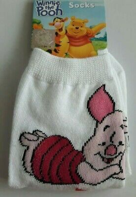 Disney Piglet Winnie the Pooh toddler socks boy girl UK size 3-5.5 (Eur 21-23)