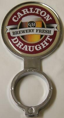 Collectible Carlton Draught Double Sided Tap Top  - Excellent