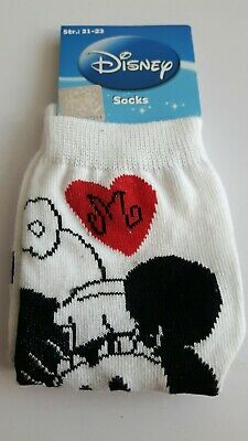 Disney Minnie Mouse toddler socks girls UK size 3-5.5 (Eur 21-23) character gift