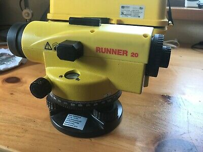 Leica Runner 20 Automatic Level - Builder's Site Dumpy Surveying-Well cared for