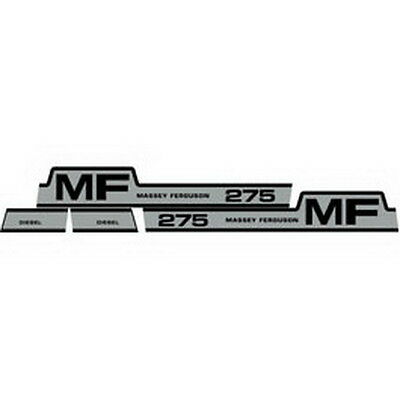 275 Massey Ferguson Tractor Hood Decal Kit Mf 275 High Quality Vinyl Decals 🎯