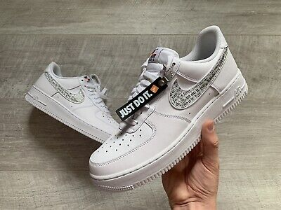 NIKE AIR FORCE 1 07 LV8 2 Leather Textile Casual Lace Up