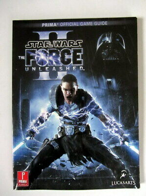 STAR WARS The Force Unleashed II (2) STRATEGY PRIMA OFFICAL GAME GUIDE