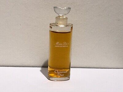 vintage miniature perfume Miss Dior - great collectable
