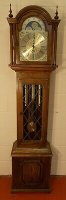 Grandfather Clock(1) Exc Cond/Hermle Trip Chimes/NATIONWIDE PERSONAL DELIVERIES