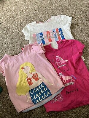 Girls Joules T Shirts Age 6 Years Holiday Bundle