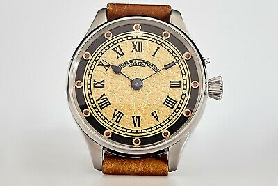 Antique Vacheron & Constantin Men's Swiss Wrist Watch Sapphire Dial