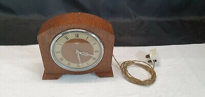 Riley Mains Electric Wood Cased Mantel Clock