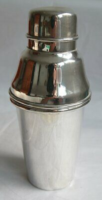 Vintage Silver Plated Cocktail Shaker Yeoman Plate EPNS - Patina / Wear