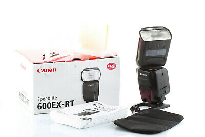 Flash SpeedLight Canon 600EX RT pour Canon EOS 750D 80D 7D 6D 5D (580) Garanti