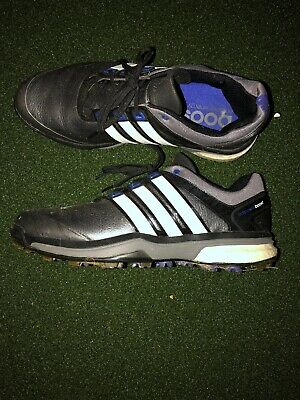 Adidas Men's Golf Shoes US 9.5 AdiPower Boost Black Leather Endless Energy