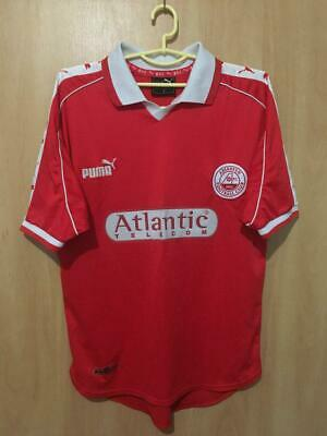 Aberdeen Scotland 1998/2000 Home Football Shirt Jersey Vintage Puma