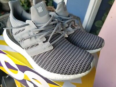 on sale 44e62 eb08d UNDEFEATED X ADIDAS Ultra Boost Grey Clear Onix Core Black White CG7148  SIZE 7