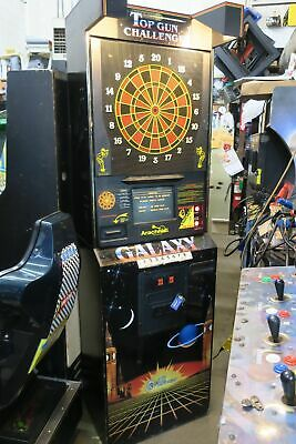 Nice Galaxt Top Gun Challenge Commercial Coin Operated Dart Board #1