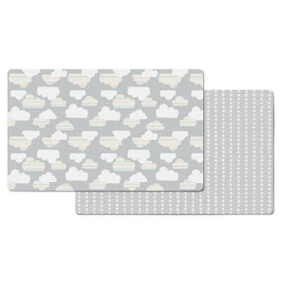 Brand New Skip Hop Doubleplay Reversible Playmat Clouds / Mini Dot