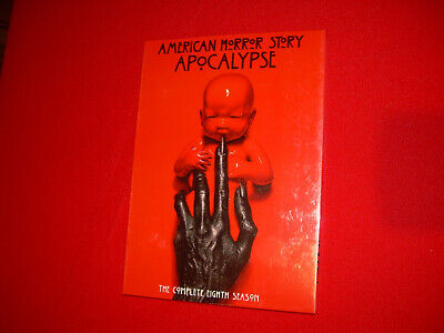 Complete Eighth Season 8 Eight NEW Sealed AMERICAN HORROR STORY: APOCALYPSE DVD