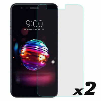 2PCS 9H Clear Premium Tempered Glass Screen Protector Cover For LG K10 2018/K30