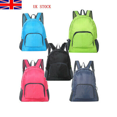 UK Men Women Nylon Sling Bags Backpack Crossbody Shoulder Chest Cycle Daily