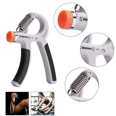 10-60KG Adjustable Hand Power Grip Wrist Forearm Strength Training Exerciser#GCM