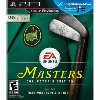 Tiger Woods PGA Tour 13 Masters Collectors Edition - Sony PlayStation 3 PS3 Game
