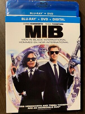 MIB Men In Black International Blu-Ray DVD Slipcover Canada Bilingual NO DC LOOK