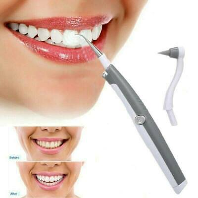 Electric Sonic Dental Tooth Stain Polisher Teeth Whitener Plaque Remover