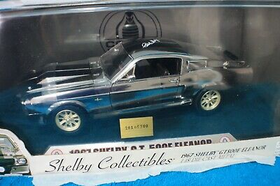 1:18 Shelby GT500E Ford 1967 Mustang Eleanor Limited Edition 201/500 Signon roof