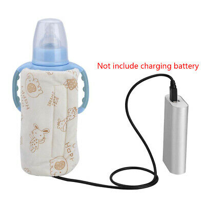 Heater Insulated USB Bottle Cover Milk Warmer Travel Electric Thermostat Outdoor