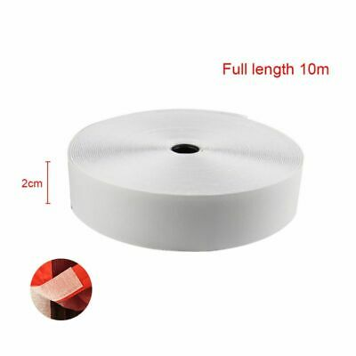 Hook and Loop Tape Roll Self Adhesive Strips Sticky Back Fastener, 1In x 33Ft*