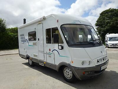 Hymer B564 Luxury German 3 Berth A Class motorhome in excellent condition