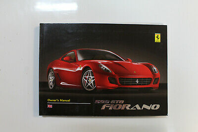 Ferrari 599 GTB Owner's manual 69851700 2426/06 April  '08
