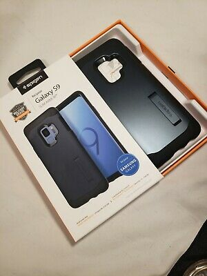 Galaxy S9 Case | Spigen® [Tough Armor] Shockpoof Heavy Duty Dual Cover